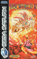 ## SEGA SATURN - Discworld 2: Missing Presumed - NEUWERTIG / MINT ##