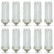 10 x Crompton CFL Light Bulbs Type TE 4 Pin Gx24q-3 4000K Cool White