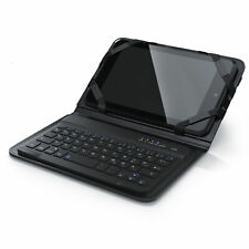 Aplic Wireless Bluetooth-Tastatur Keyboard im Slim Design | inkl. Kunstledercase
