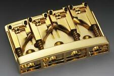 NEW Schaller 3D-4 4 String Bass Bridge with Roller Saddles GOLD Made in Germany