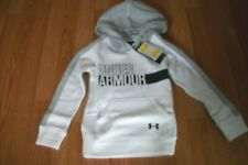 Under Armour Girls Youth Favorite Fleece White Small NWT $45