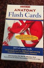 Barron's Anatomy Flashcards : 264 Full-Color Cards by Kurt H. Albertine (2005, …