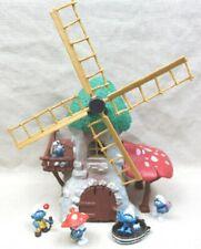 Schleich® Windmühle + Schlümpfe Bully Puffi Pitufo Schtroumpf Smurf™
