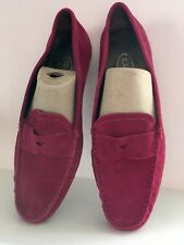 New Talbots Size 9 W Pink Suede Loafers