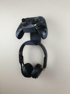 XBOX PS4 Stand Wall Mount Controller Headset Holder Dock Display Storage Gaming