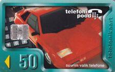 ESTONIA ,,CHIP PHONECARD USED, TRANSPORT//CAR//