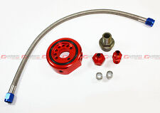 ALUMINUM RED VTEC HEAD TO LS B20 ENGINE CONVERSION KIT SANDWICH ADAPTOR PLATE