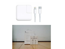 Apple MacBook 29W USB-C Power Adapter/Charger with USB-C to Lightning Origin