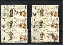 GB - Commemoratives - 1996 - six  sets - Robert Burns - Commercially used
