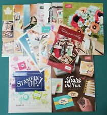 Stampin Up Lot of 15 Catalog Idea Books 2011 2012 2015 2019 + for rubber stamps