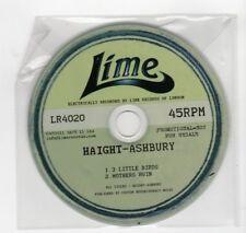 (HV118) Haight-Ashbury, 3 Little Birds / Mothers Ruin - 2011 DJ CD