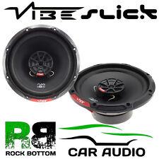 """Vibe Slick 6 V7 480 Watts a Pair 17 cm 6"""" 2 Way Coaxial Car Door Speakers"""