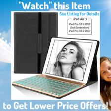 BEST iPad Air 3 Case with Keyboard Cute Backlit Bluetooth 3rd Generation 2019