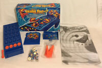 Piranha Panic Board Game 2005 Mattel 100% Complete