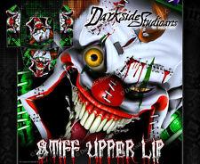 "AXIAL RR10 BOMBER GRAPHICS WRAP DECALS ""STIFF UPPER LIP"" FITS OEM BODY PARTS"