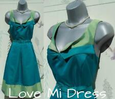 Gorgeous 50's 60's Fit N Flare Tea Dress Sz 14 EU42