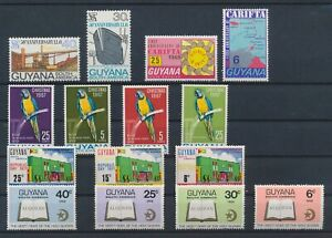 LN88028 Guyana mixed thematics nice lot of good stamps MNH