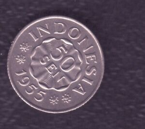 INDONESIA 50 SEN 1955