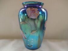 """Fenton Favrene 2001 Connoisseur Vase """"Felicity"""" 558/1850"""