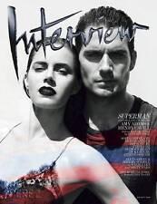 INTERVIEW,Amy Adams,Henry Cavill Superman,Nick Cave,Stephanie Seymour,Coppola