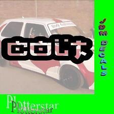 Colt Japan JDM Sticker Aufkleber oem Power fun like Shocker DUB
