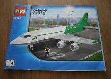 Bauanleitung LEGO City Großes Frachtflugzeug (60022) Heft 4