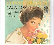 CONNIE FRANCIS - Vacation