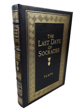 Last Days of Socrates Plato Easton Press Greek Classic Leather Bound Special