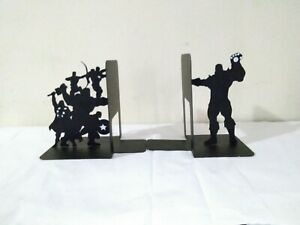 Loot Crate Exclusive Marvel The Avengers and Thanos Bookends