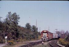 Lehigh Valley Train NE1 with GP38-2 # 315 @ Niagara Jct.NY.1973 Kodak slide