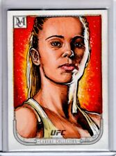 2018 Topps UFC Museum Collection PAIGE VAN ZANT 1/1 Artist Sketch DARRIN PEPE