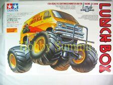Tamiya 1/12 R/C  LUNCH BOX  Custom Monster Van  w/  TEU-104 ESC  # 58347