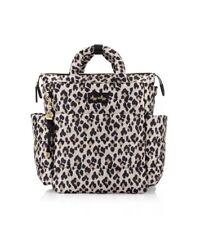 Itzy Ritzy Dream Convertible Leopard Diaper Bag Backpack Shoulder Puffer Cheetah