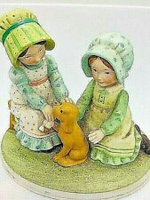 Holly Hobbie All Better Sweet Remembrance Collection Series Ii 1980 Dog 2Girls