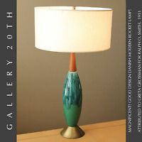 DANISH DELIGHT! MID CENTURY MODERN GRETA GROSSMAN LAMP! RALPH O SMITH ATOMIC 50S