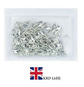 50 x SAFETY PINS PACK Silver Colour Sewing Craft sewing Hemmimg UK