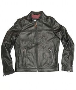 Hugo Boss Men's Leather Jacket   RRP £699