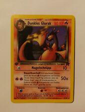 Pokemon Card Dark Charizard 21/82 1st Edition