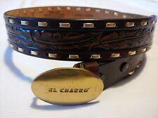 CINTURA -BELT vintage 80's EL CHARRO  TG.L poca vestibilità circa XS-S RARE
