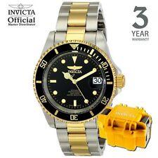 Invicta Pro Diver Automatic Men Gold IP 40mm Diving Watch 8927OB w/ Case