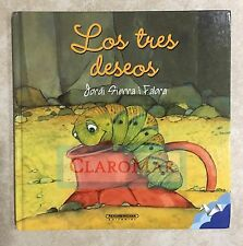 ☀ NEW Los tres deseos (Three Wishes) Hardcover Español Spanish Child Book RARE