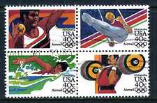 US #C105-108 Airmail Olympic Games Used SeTenant Block of 4