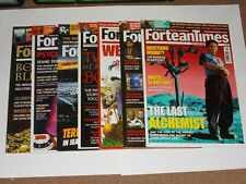 ForteanTimes Magazines. 7 Different Issues. 2007/2008/2011/2012. Supernatural.