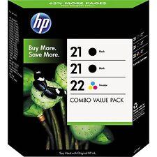 HP 21/22 Ink Cartridge Combo Pack