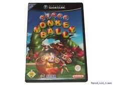 ## Super Monkey Ball (Deutsch) Nintendo GameCube Spiel // GC - TOP ##
