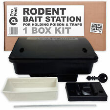 ProPest 1x Rodent External Bait Box Station Secure Safety for Rat & Mouse Poison