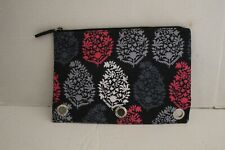 Vera Bradley Northern Lights Pencil Pouch 3 Ring Binder Case Zippered