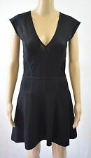 Bnwt French Connection Down Town Dani Cap Sleeve Dress UK 12 - RRP £125 (R196)