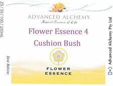 Flower Essence #4 Vitality - Advanced Alchemy 25ml Cushion Bush