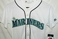 Majestic Seattle Mariners Ichiro Suzuki #51 Baseball Jersey Youth Small New